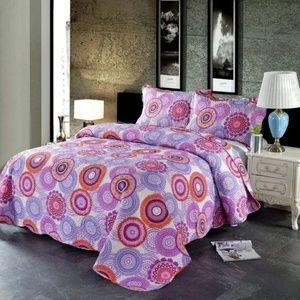Purple Quilts Set